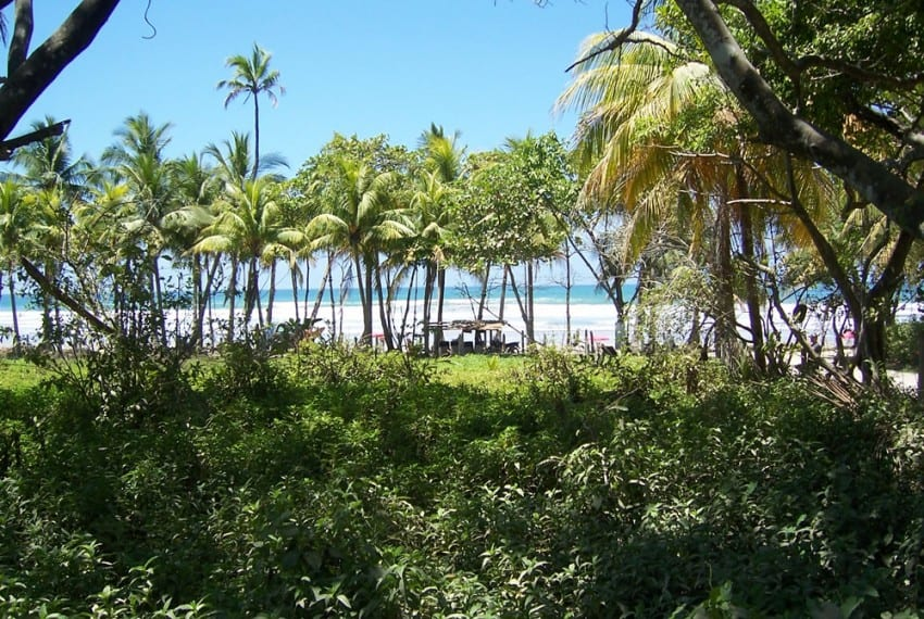 nicoya peninsula beach front lot for sale