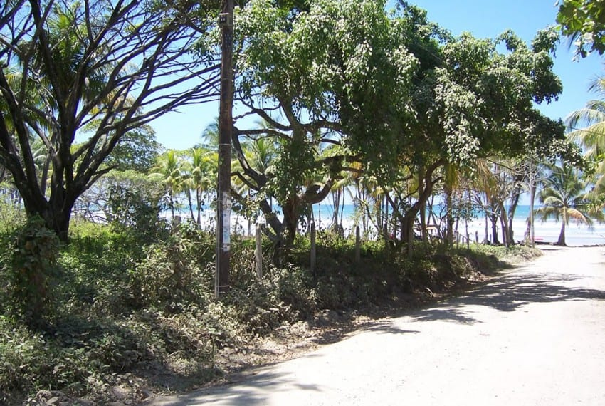nicoya peninsula beach front lot for sale 9